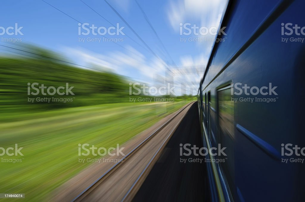 Treno - foto stock