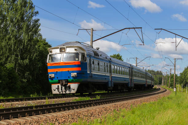 Train, rail transport, locomotive, passengers Train, rail transport, locomotive, passengers electric train stock pictures, royalty-free photos & images
