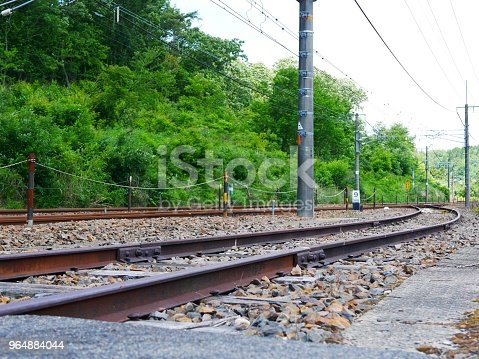 Train Railway Stock Photo & More Pictures of Bright