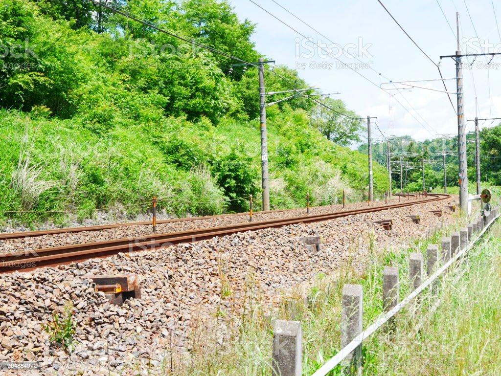 火車鐵路 - 免版稅交通方式圖庫照片
