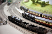 istock Train set 184621662