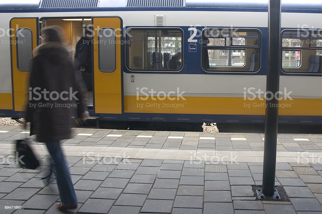 Железнодорожный вокзал 2 Стоковые фото Стоковая фотография
