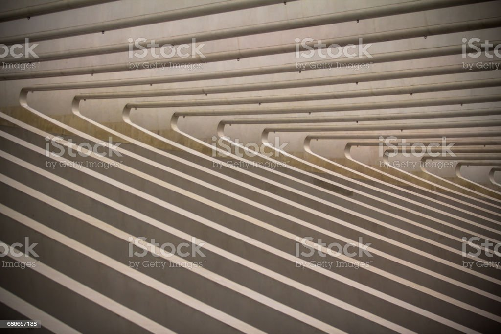 Train station in Liege, Belgium royalty-free stock photo