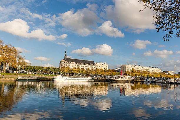 gare ferroviaire. nantes. la france. le 14 novembre 2014 - nantes photos et images de collection