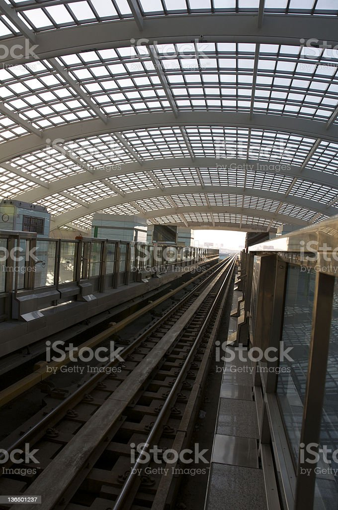 Train station of T3 beijing stock photo