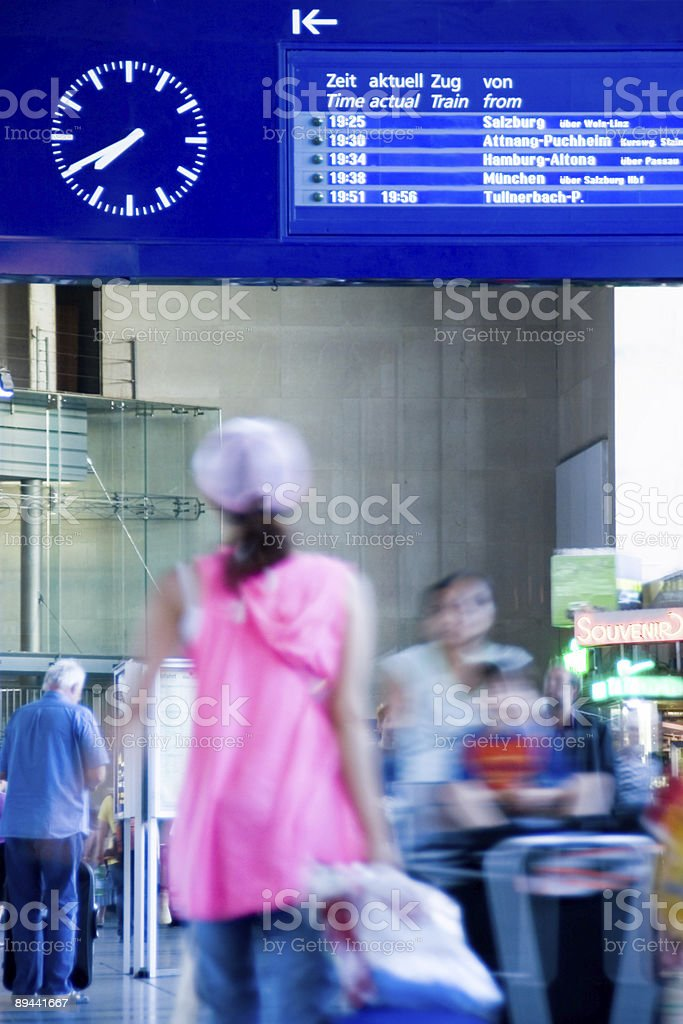 Train station royalty-free stock photo
