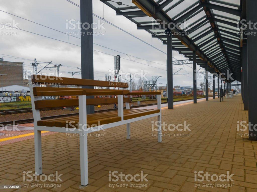 Train Station stock photo