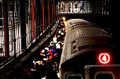 istock Train Station Rush Hour 1257991993
