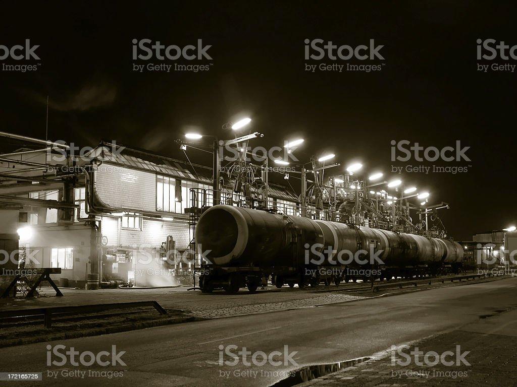 train tank royalty-free stock photo