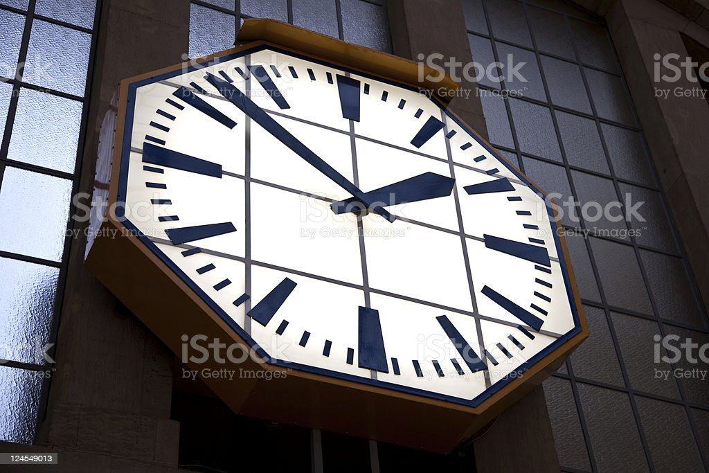 Train Time royalty-free stock photo