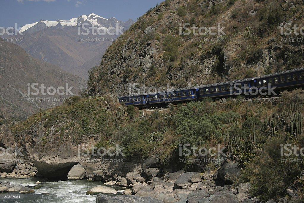 Train to Machu Picchu 免版稅 stock photo