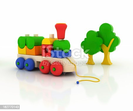 873187696 istock photo Train Toy 182770143