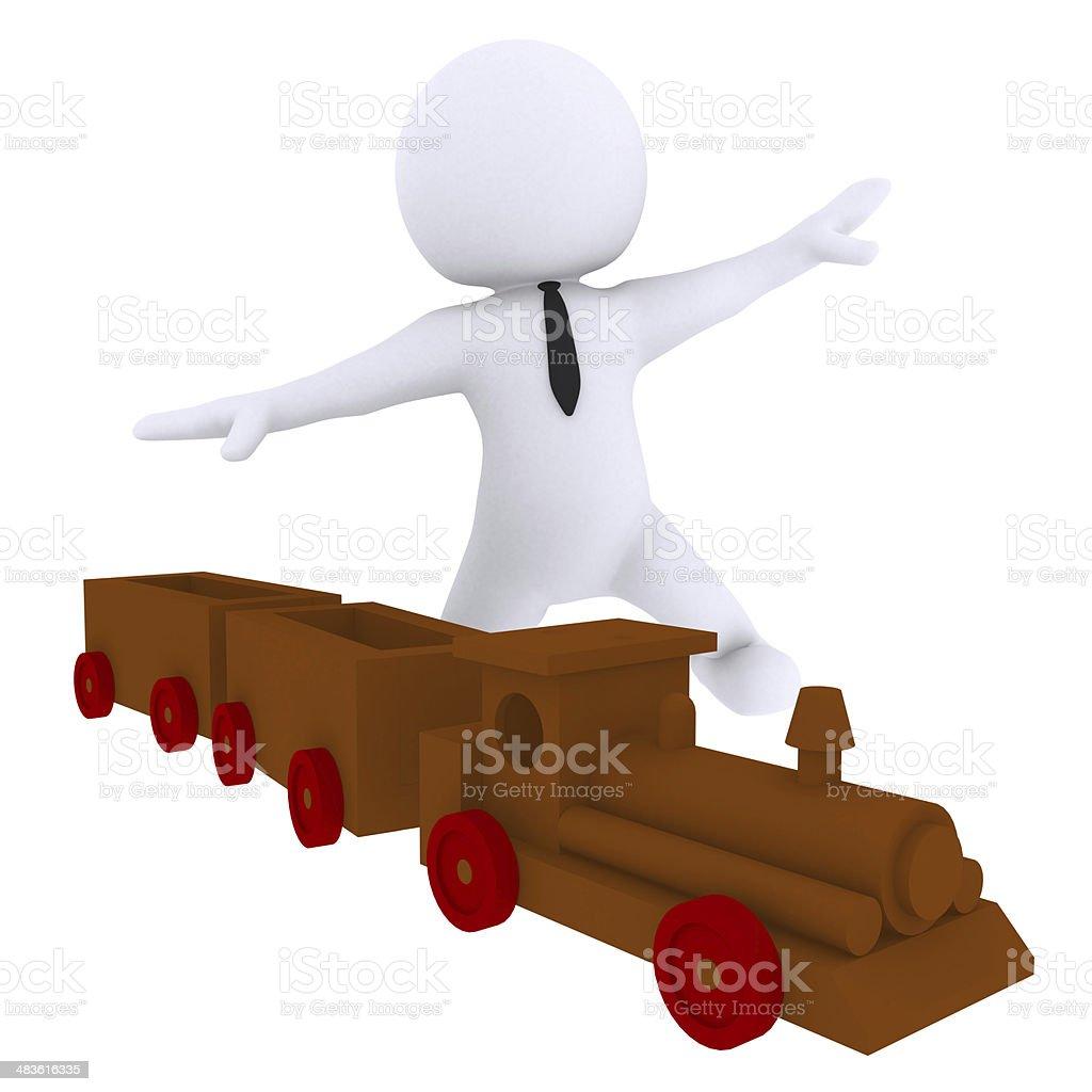 train toy stock photo