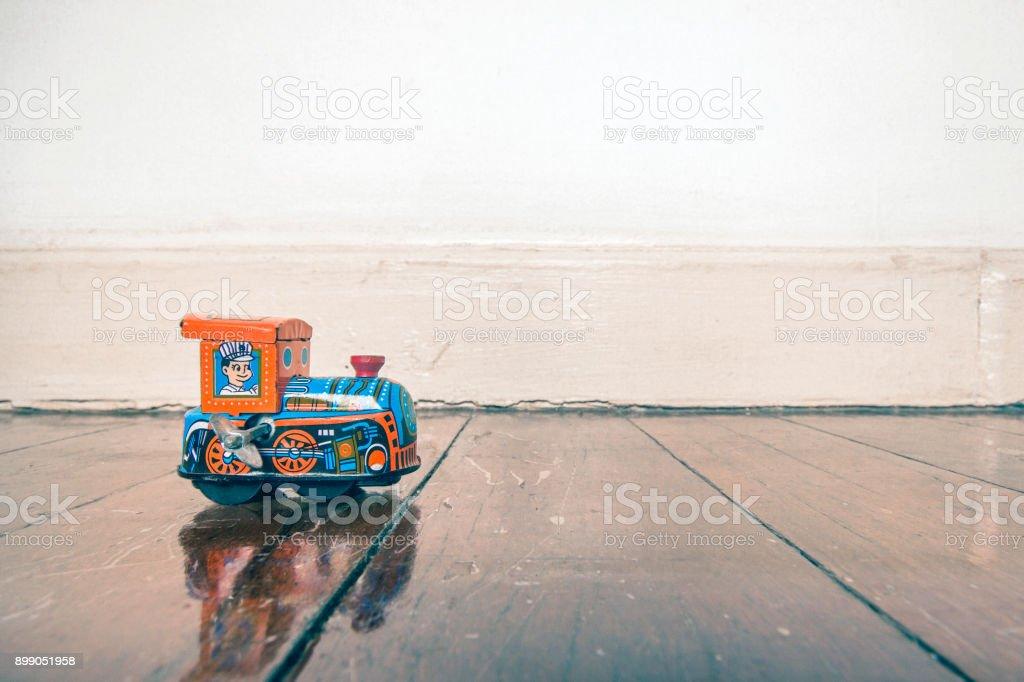 Bahn Spielzeug Holzboden – Foto