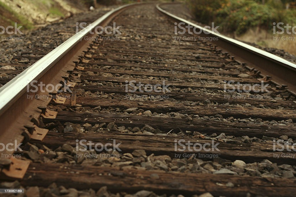 train track 2 royalty-free stock photo