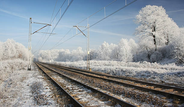train track - desolated stock pictures, royalty-free photos & images