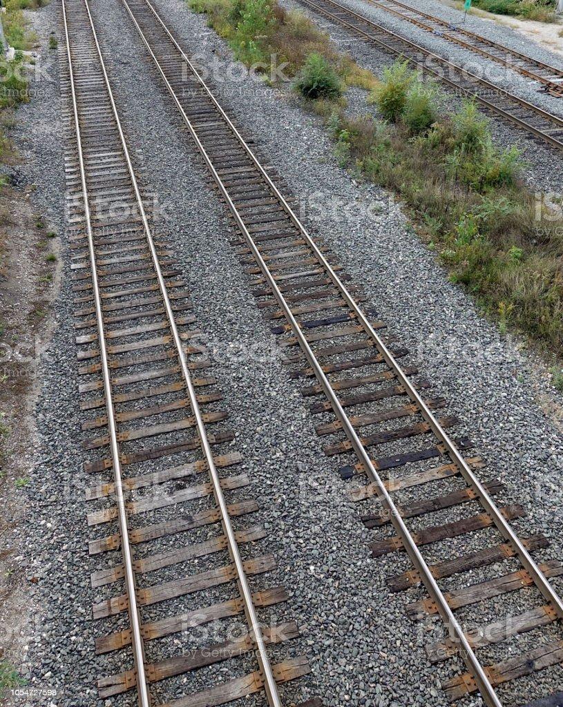 Bahngleisen – Foto