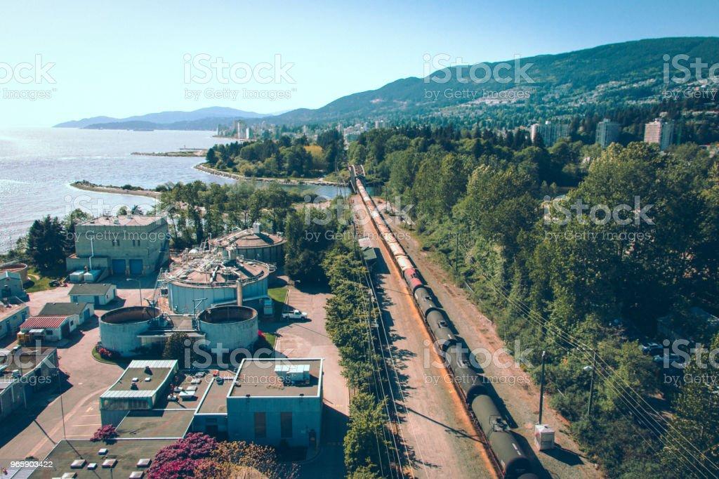 Train way - Royalty-free British Columbia Stock Photo
