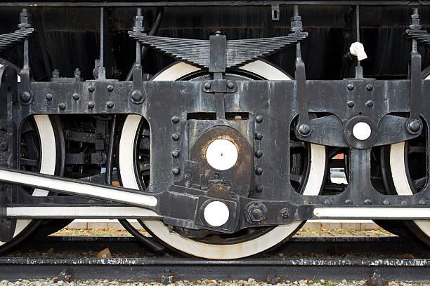 Treno ruota - foto stock