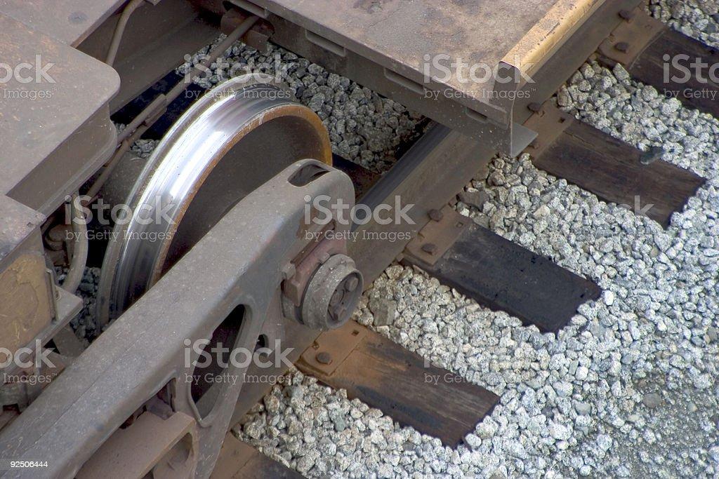 Train Wheel royalty-free stock photo