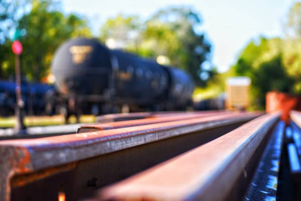 train yard - stop motion stock photos and pictures