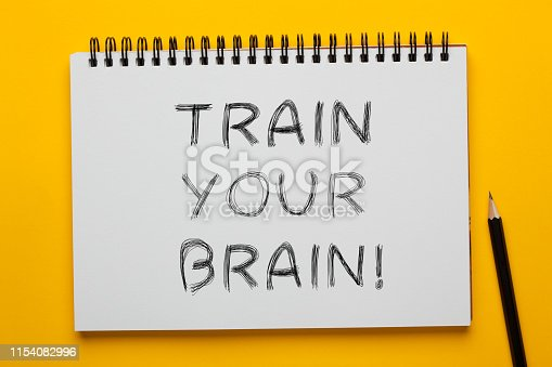 952856170 istock photo Train Your Brain 1154082996