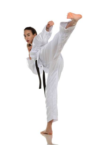 Trained Flexibility stock photo