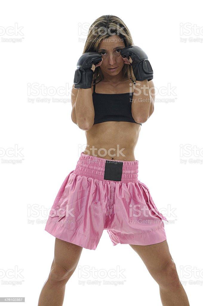 MMA Trained royalty-free stock photo