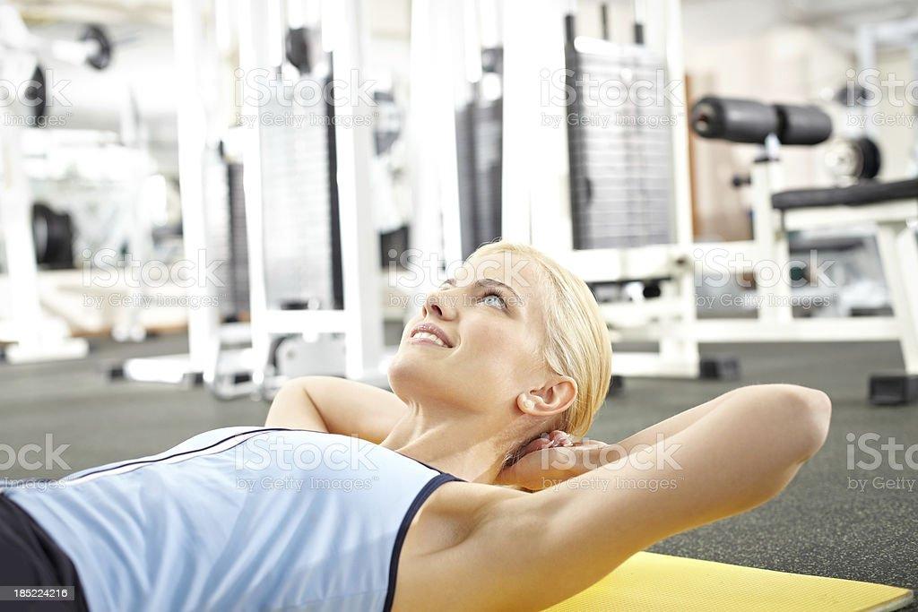 Training body royalty-free stock photo