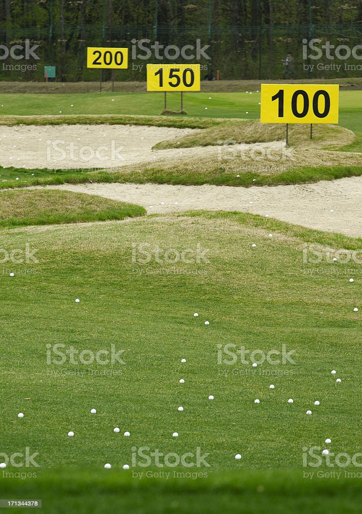 training center in golf club royalty-free stock photo