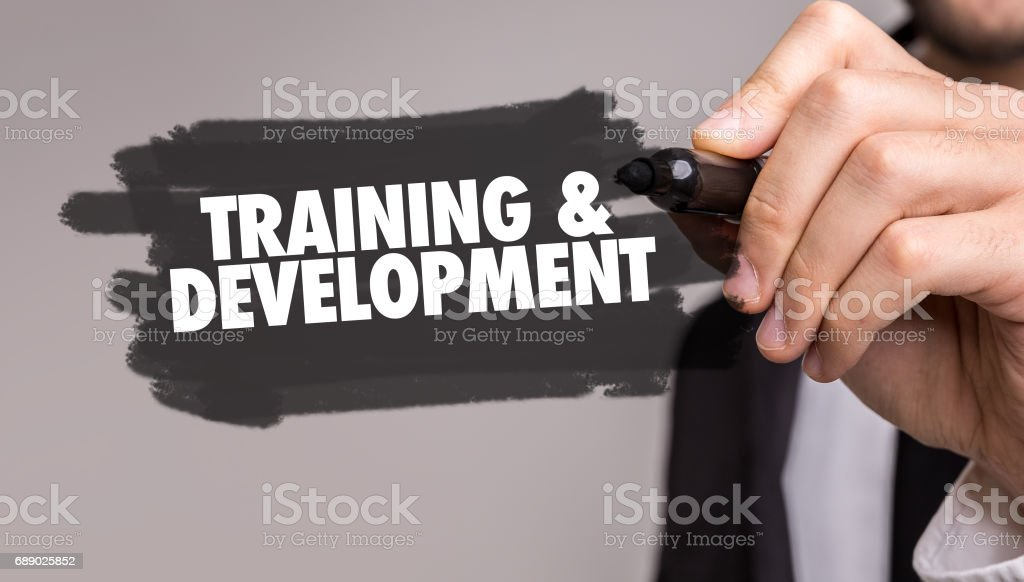 Training & Development stock photo