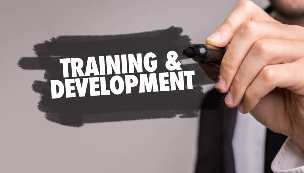 & treinamento desenvolvimento - foto de acervo
