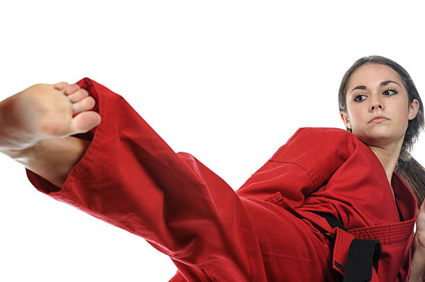 training effort - martial arts gerville stock photos and pictures