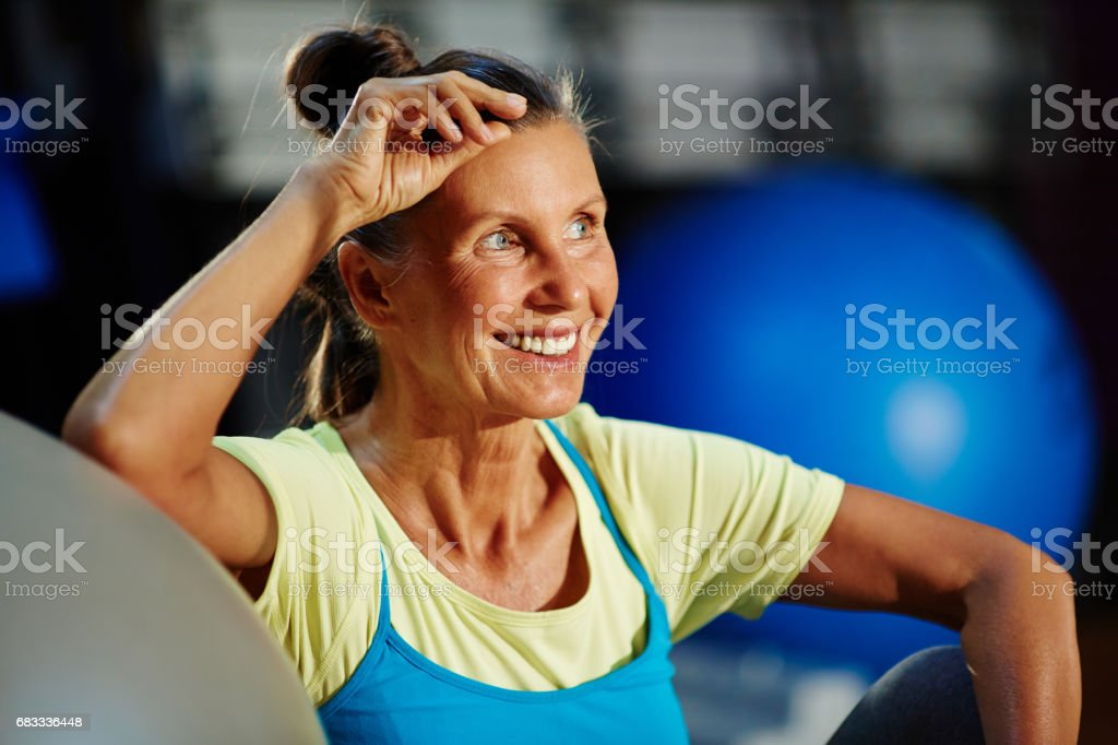 Training for keeping fit royalty-free stock photo