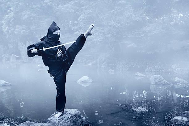 capacitación ninja - ninja fotografías e imágenes de stock
