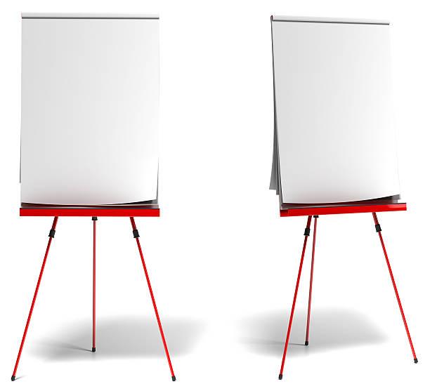 training paperboard oder flipchart. - flipchart stock-fotos und bilder
