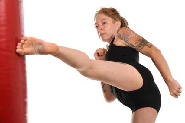 MMA Training stock photo