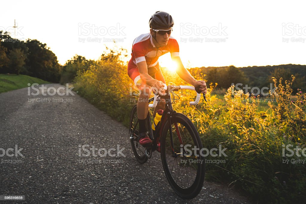 Training session outdoors stock photo