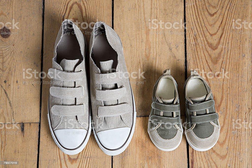 Training shoes stock photo