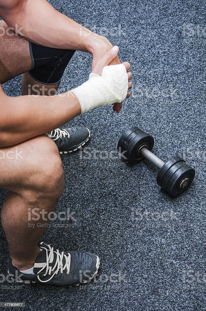 Training stop stock photo