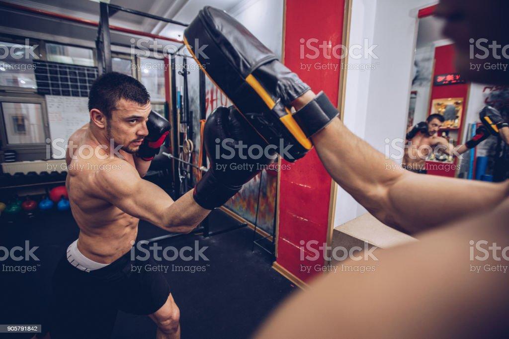 Training time stock photo