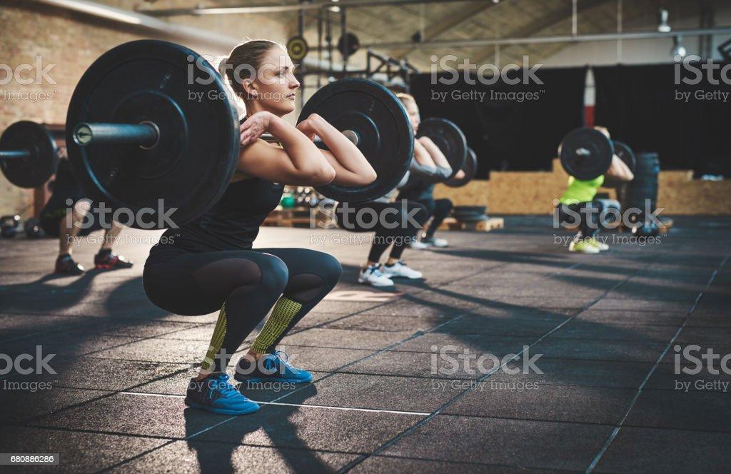 La formation et rester concentré - Photo