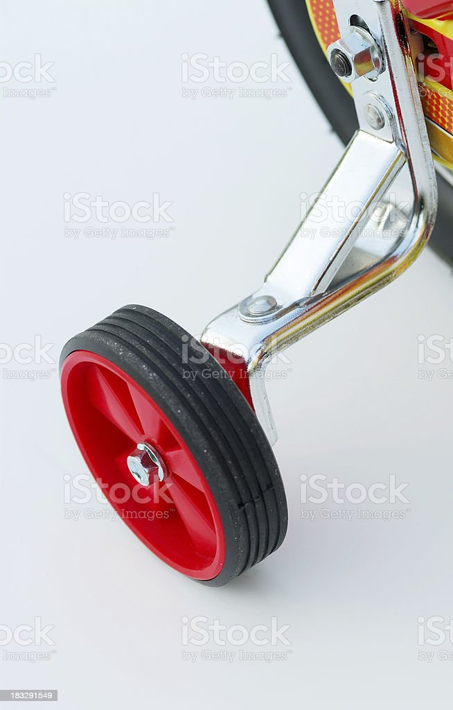training wheel royalty-free stock photo