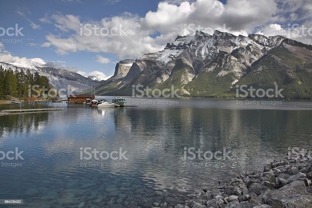 Trainings on water. royalty-free stock photo