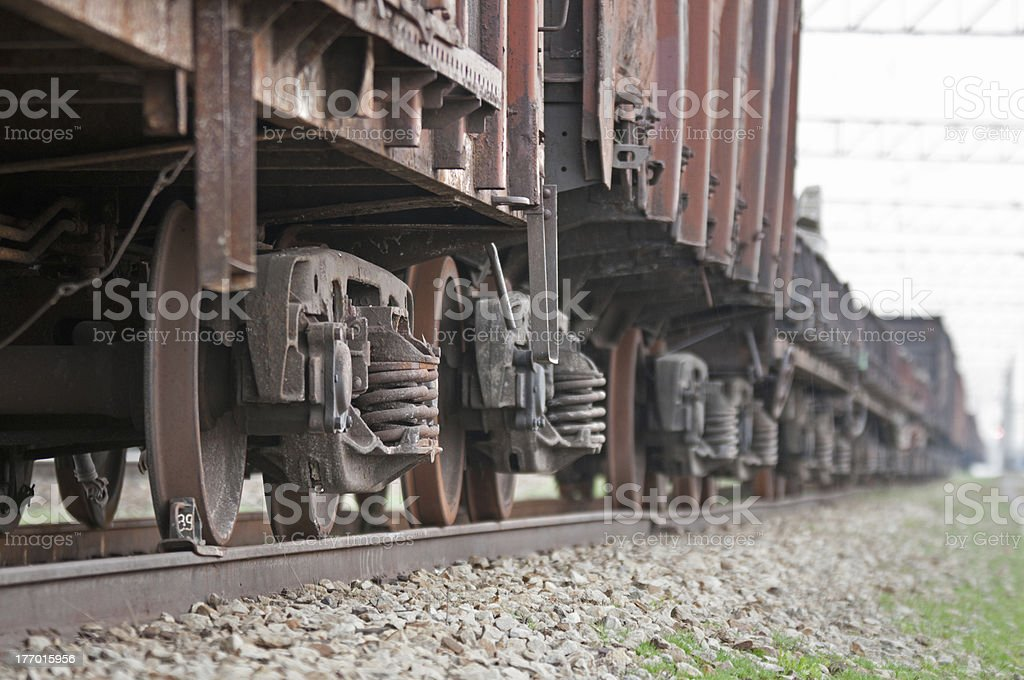 Trainload royalty-free stock photo