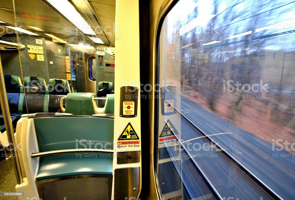 Zug s Divide Lizenzfreies stock-foto