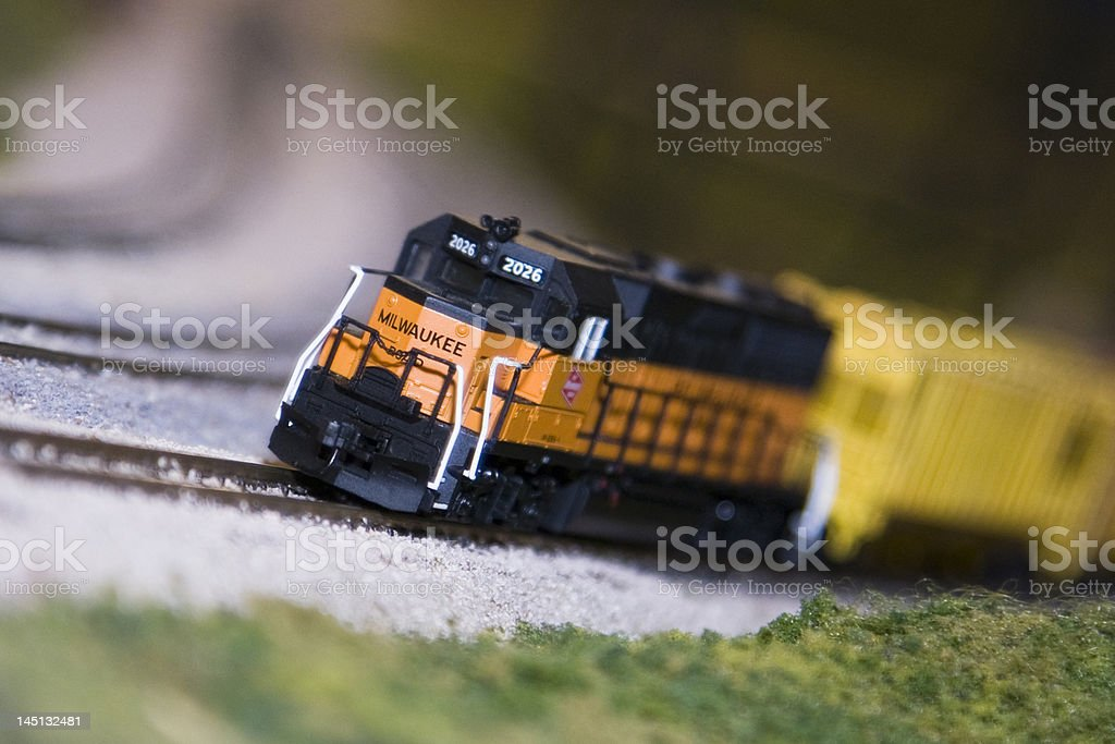 Trains-1 stock photo