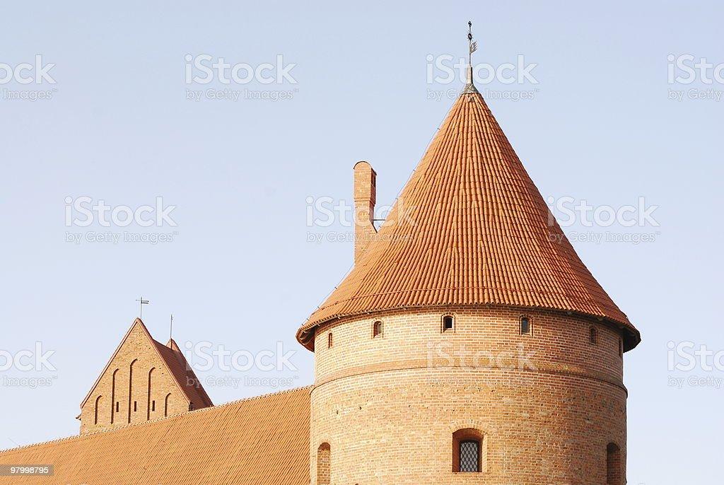 Trakai Castelo III foto royalty-free