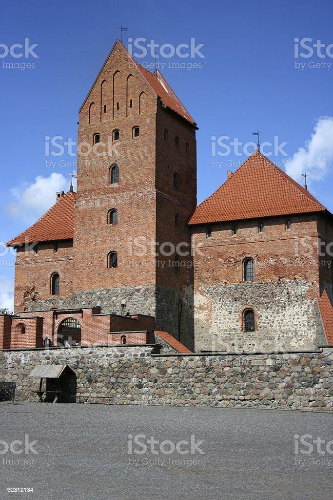 Trakai Castle, Lithuania royalty-free stock photo