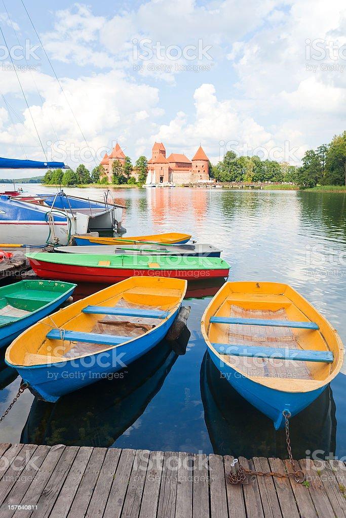 Trakai, Lithuania stock photo